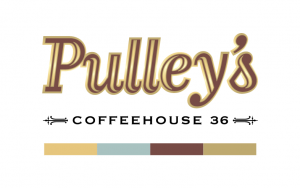 Pulley's Coffeehouse 36 Brandmark